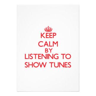 Mantenha a calma escutando ACORDOS da MOSTRA
