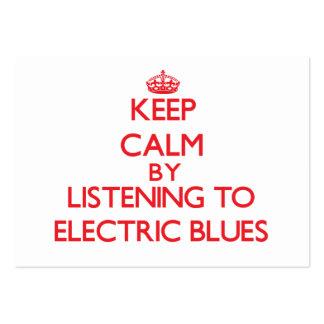 Mantenha a calma escutando AZUIS ELÉTRICOS