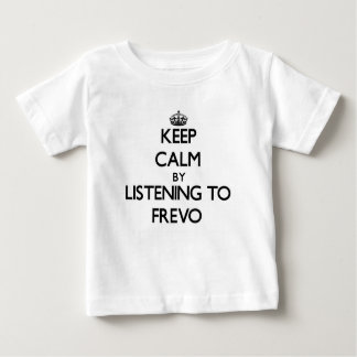 Mantenha a calma escutando FREVO Tshirts