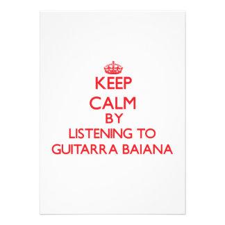 Mantenha a calma escutando GUITARRA BAIANA