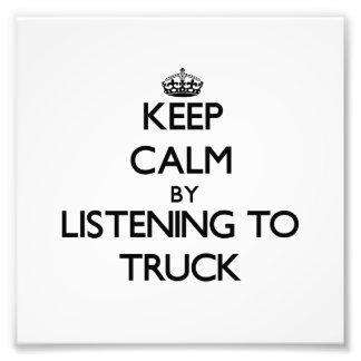 Mantenha a calma escutando o CAMINHÃO Foto