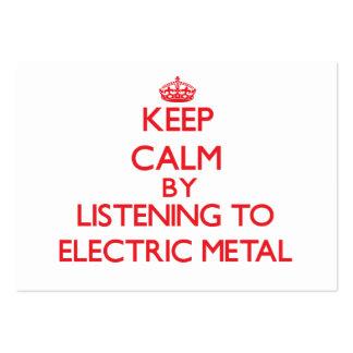 Mantenha a calma escutando o METAL ELÉTRICO