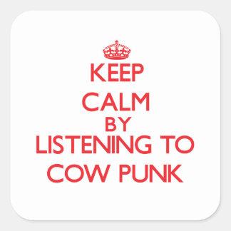 Mantenha a calma escutando o PUNK da VACA