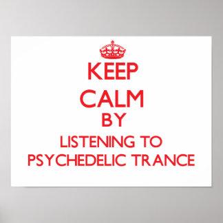 Mantenha a calma escutando o TRANCE PSICADÉLICO