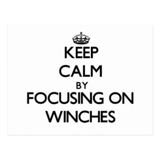 Mantenha a calma focalizando em guinchos