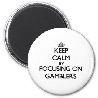 Mantenha a calma focalizando em jogadores