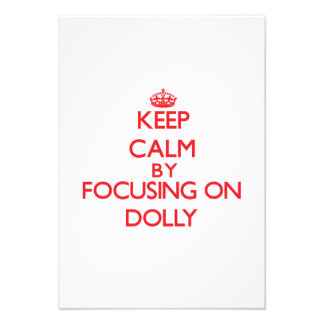 Mantenha a calma focalizando na zorra convite