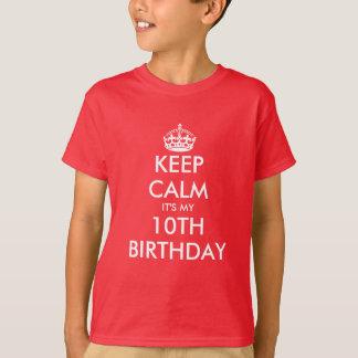 Mantenha a calma que é minha 10o camisa do