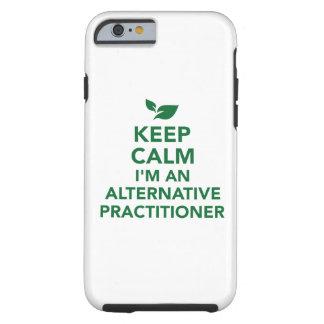 Mantenha a calma que eu sou um médico alternativo capa tough para iPhone 6