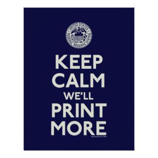 Mantenha a calma que nós imprimiremos mais panfletos personalizados