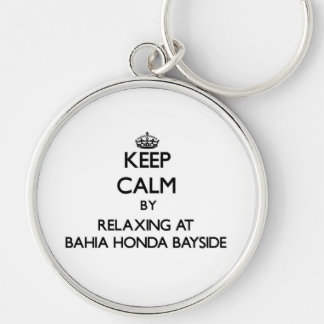 Mantenha a calma relaxando em Baía Honda Bayside F Chaveiro