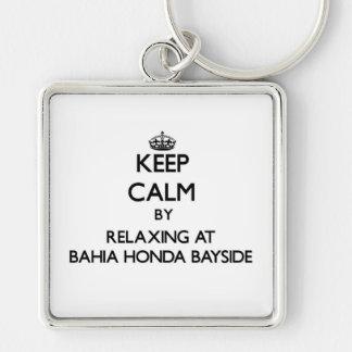 Mantenha a calma relaxando em Baía Honda Bayside F Chaveiros