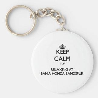 Mantenha a calma relaxando em Baía Honda Sandspur  Chaveiros