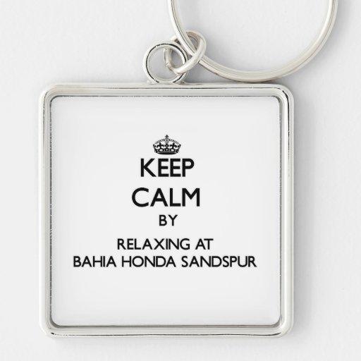 Mantenha a calma relaxando em Baía Honda Sandspur  Chaveiro