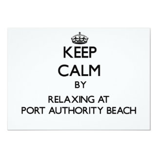 Mantenha a calma relaxando na praia Guam da Convites Personalizados