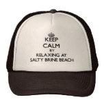Mantenha a calma relaxando na praia salgado Rhode