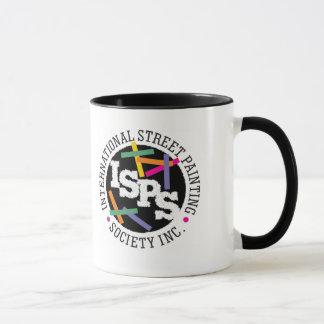 Mantenha a calma & risque a caneca de café de