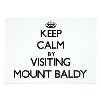Mantenha a calma visitando a montagem Baldy Convites