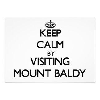 Mantenha a calma visitando a montagem Baldy Indian