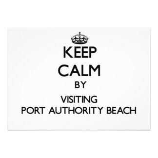 Mantenha a calma visitando a praia Guam da autorid