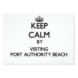 Mantenha a calma visitando a praia Guam da Convite Personalizado