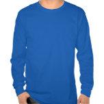 Mantenha a camisa de pólo aquático da calma & do j t-shirts