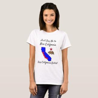 Mantenha a camisa desatada Califórnia do símbolo