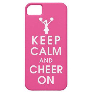 mantenha a conclusão h engraçado do cheerleader da capa para iPhone 5
