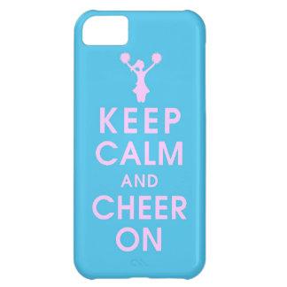 mantenha a conclusão h engraçado do cheerleader da capa para iPhone 5C