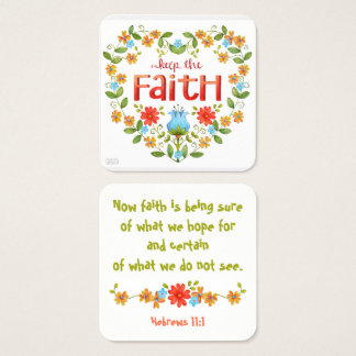 Mantenha a fé • Negócio • Mamães • Cartão da