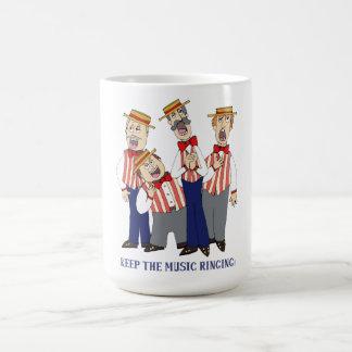 Mantenha a soada da música caneca de café