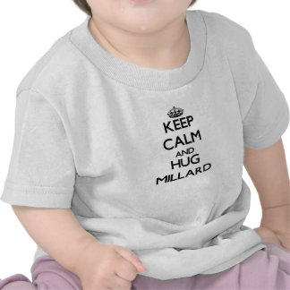 Mantenha calmo e abraço Millard