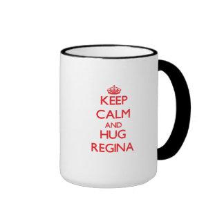 Mantenha calmo e abraço Regina Caneca
