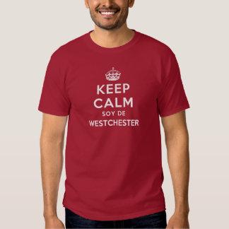 Mantenha Calmo Soja De Westchester Tshirts