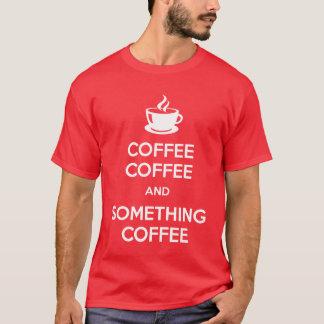 Mantenha camisas calmas da obscuridade do café