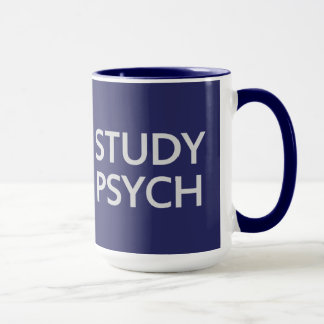 Mantenha caneca calma & do estudo de Psych - para