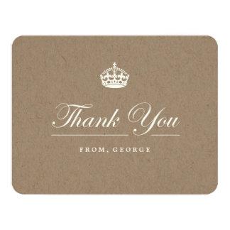 Mantenha cartões de agradecimentos calmos da festa convite 10.79 x 13.97cm