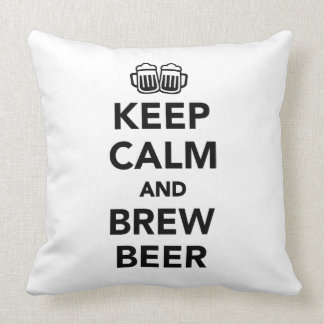 Mantenha cerveja calma e da fermentação almofada