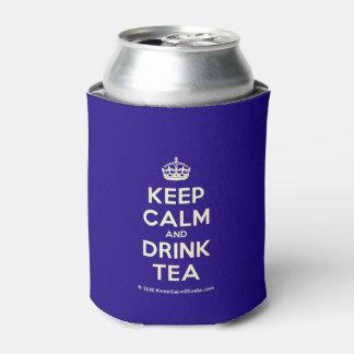 Mantenha chá calmo e da bebida porta-lata
