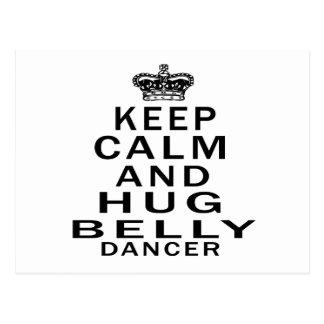 Mantenha dança do ventre calma e do abraço