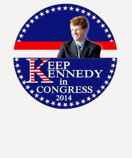 Mantenha (Joe) Kennedy no congresso T-shirt