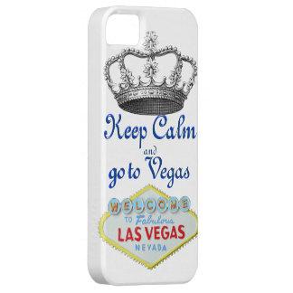 Mantenha Las Vegas calmo Capa Barely There Para iPhone 5