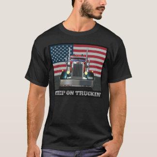 Mantenha na camiseta de Truckin