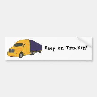 Mantenha no caminhão de Truckin', em autocolantes Adesivo Para Carro