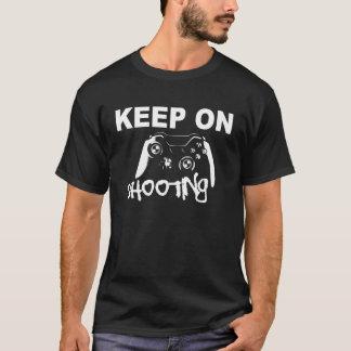 mantenha no tiro camiseta