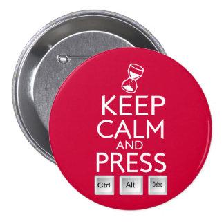 Mantenha o controle Alt calmo e da imprensa e supr Botons