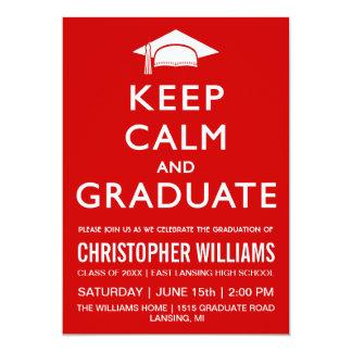 Mantenha o convite calmo e graduado