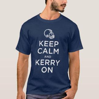 Mantenha o Kerry calmo na camisa
