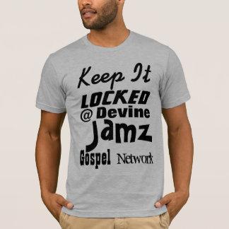 Mantenha-o @ rede fechado do evangelho de Devine Camiseta