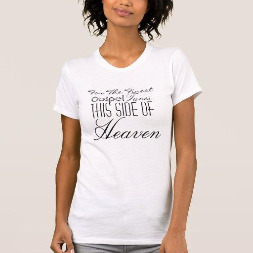 Mantenha-o @ rede fechado do evangelho de Devine Tshirts